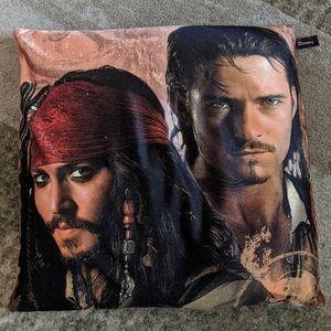Pirates of the Caribbean pillow